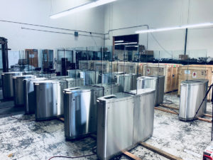 Gunnebo SpeedStile FP turnstiles are built to order at our Benicia, California manufacturing facility.