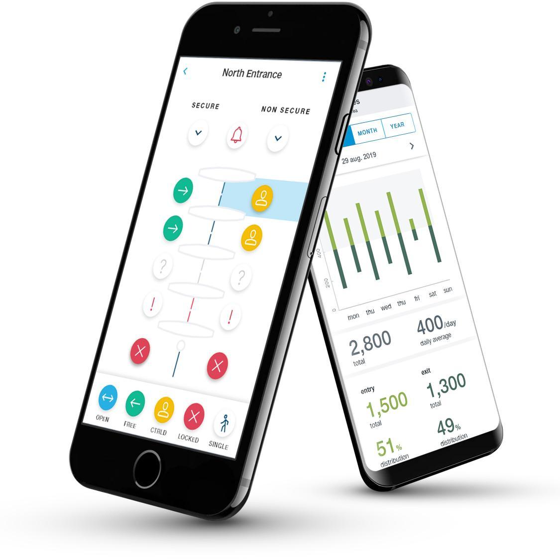 Gunnebo EntraLinq Remote Access Control App